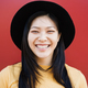 Happy asian hipster woman smiling on camera - Focus on face - PhotoDune Item for Sale