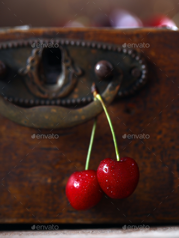 Berries Ripe Cherry - Stock Photo - Images