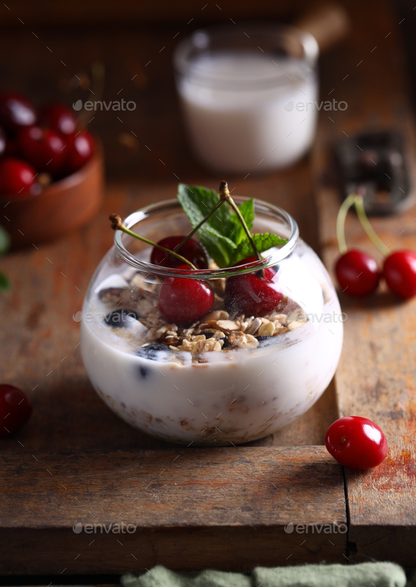 Milk Dessert - Stock Photo - Images