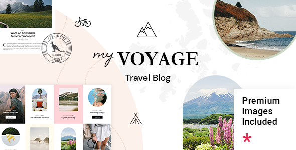 Fabulous MyVoyage - Travel Blog WordPress Theme