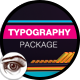Minimal Shapes and Lines Typography Package - VideoHive Item for Sale
