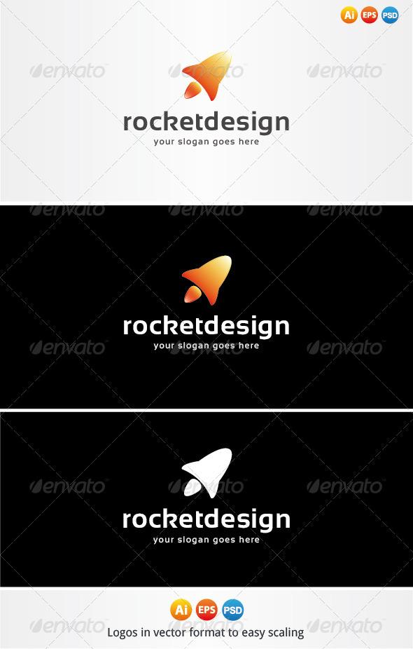 Rocket Design Logo - Objects Logo Templates