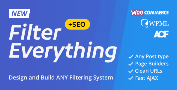 Filter Everything — WordPress/WooCommerce Product Filter