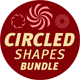 Circled or Radial Photoshop Shapes Bundle - GraphicRiver Item for Sale