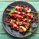 Poultry skewers in cherry sauce - PhotoDune Item for Sale