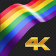 Long Flag Rainbow - VideoHive Item for Sale