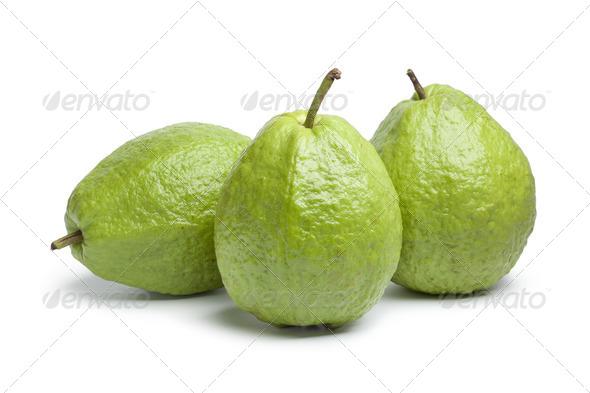 Whole fresh guava fruit - Stock Photo - Images