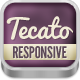 Tecato - Creative HTML5 one page portfolio Nulled