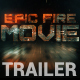 Movie Trailer | Action Fire Trailer - VideoHive Item for Sale
