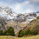 La Larri flats and waterfall in Ordesa and Monte Perdido National Park, Spain - PhotoDune Item for Sale
