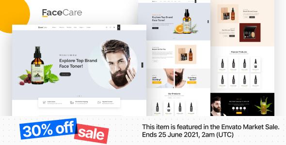 Arowana - Beard Oil & Barber Shop Responsive HTML Template With RTL