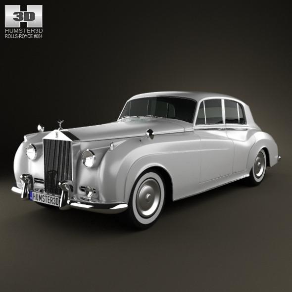 Rolls Royce Silver Cloud Ii Saloon 1959 By Humster3d 3docean