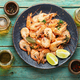Delicious boiled prawns and beer - PhotoDune Item for Sale