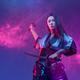 Cyberpunk style woman fighter with samurai swords - PhotoDune Item for Sale