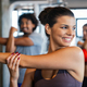 Close up image of attractive fit woman in gym - PhotoDune Item for Sale