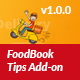 FoodBook Tips Add-on