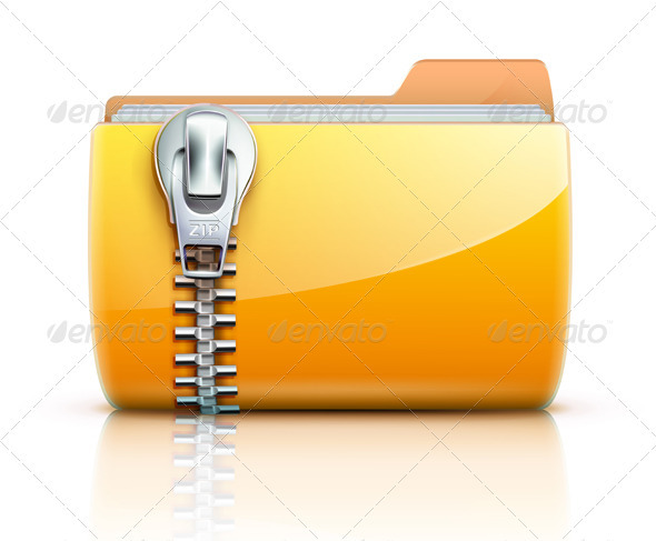 Zip folder - Technology Conceptual