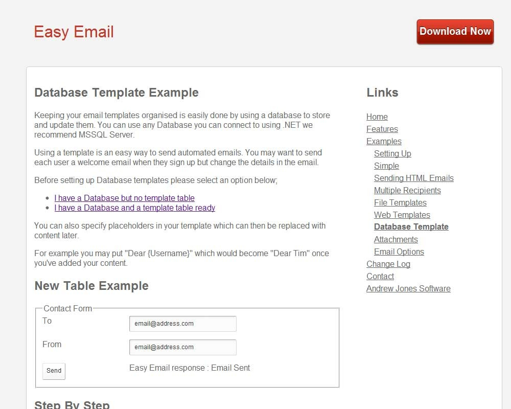 Easy Email by CodethenaSoftware | CodeCanyon