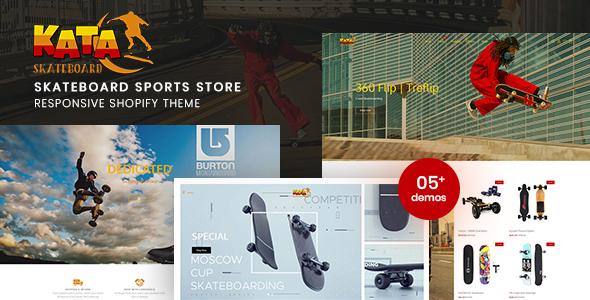 Kata – Skateboard Sports Store Shopify Theme