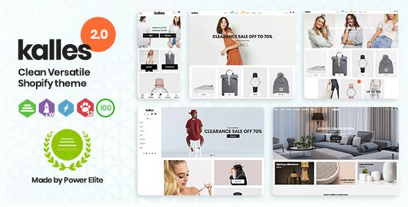 Wondrous Kalles - Clean, Versatile, Responsive Shopify Theme - RTL support