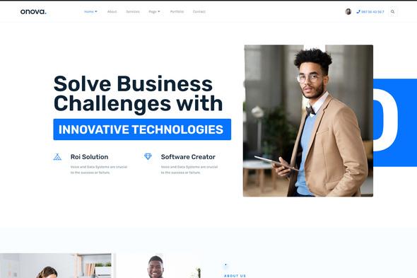 Onova - Technology IT Solutions Template Kit