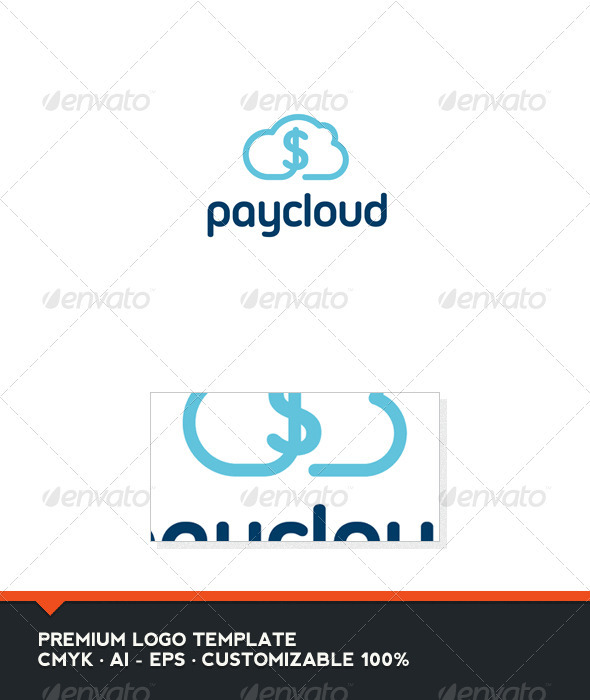 Pay Cloud Logo Template - Nature Logo Templates