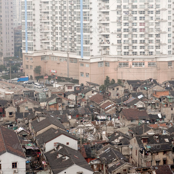 Old town Shanghai - Stock Photo - Images