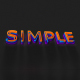 Minimal Colors Text Intro - VideoHive Item for Sale