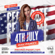 Independence Day Party Flyer