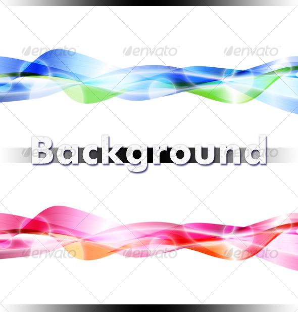 Wavy Background - Abstract Backgrounds