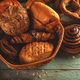 Fresh sweet and salty bakery assortment - PhotoDune Item for Sale