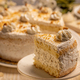 Vanilla cake with whipped cream - PhotoDune Item for Sale