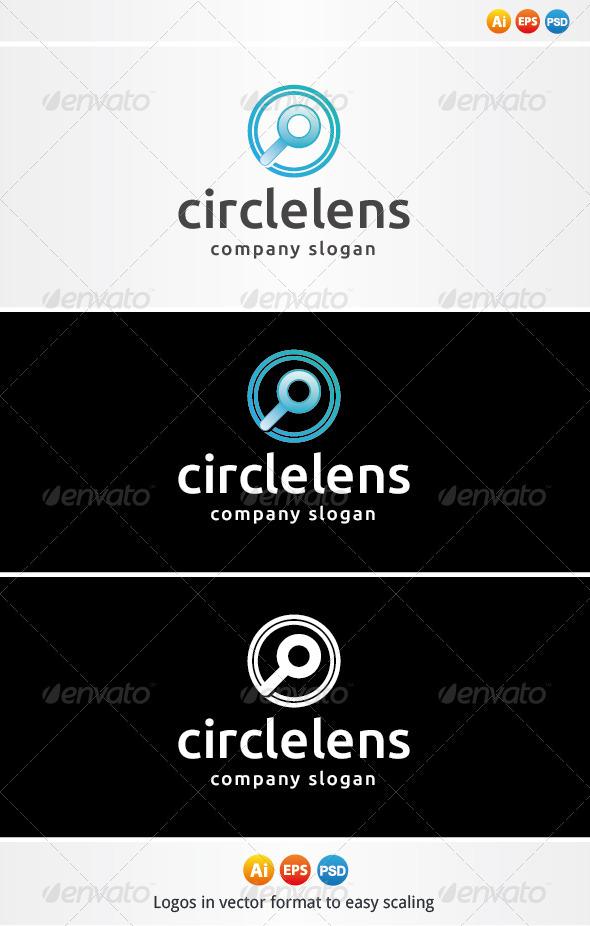 Circle Lens Logo - Symbols Logo Templates