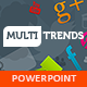 Multi Trends PowerPoint Presentation Template - GraphicRiver Item for Sale