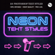Neon Text Styles