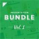 Business Google Slides Presentation Bundle Vol. 1