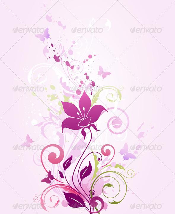 Violet Flowers - Flowers & Plants Nature