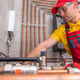 Residential Heating Systems Technician at Work - PhotoDune Item for Sale