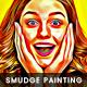 Original Color Smudge Painting