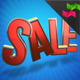 Sale 3D Text Graphic - GraphicRiver Item for Sale