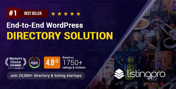 Exceptional ListingPro - Directory WordPress Theme