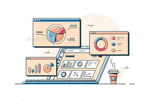 Charts and Analyzing Statistics on Screens