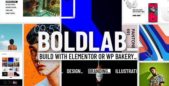 Boldlab - Creative Agency Theme