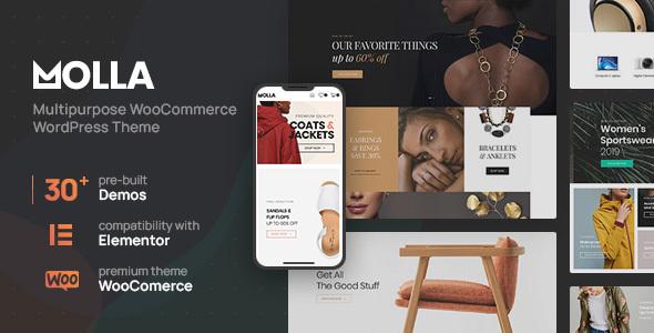 Excellent Molla | Multi-Purpose WooCommerce Theme