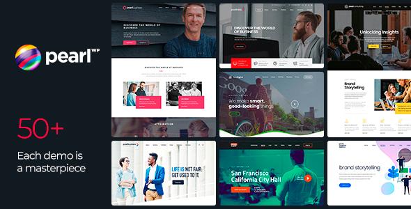 Pearl - Corporate Business WordPress Theme