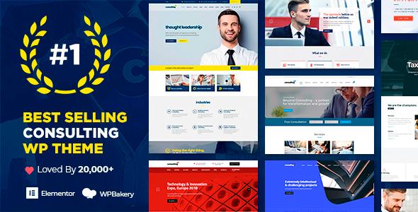 Wonderful Consulting - Business, Finance WordPress Theme