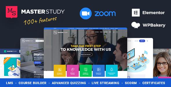 Wondrous Education WordPress Theme - Masterstudy
