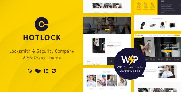 Special HotLock | Locksmith & Security Systems WordPress Theme + RTL
