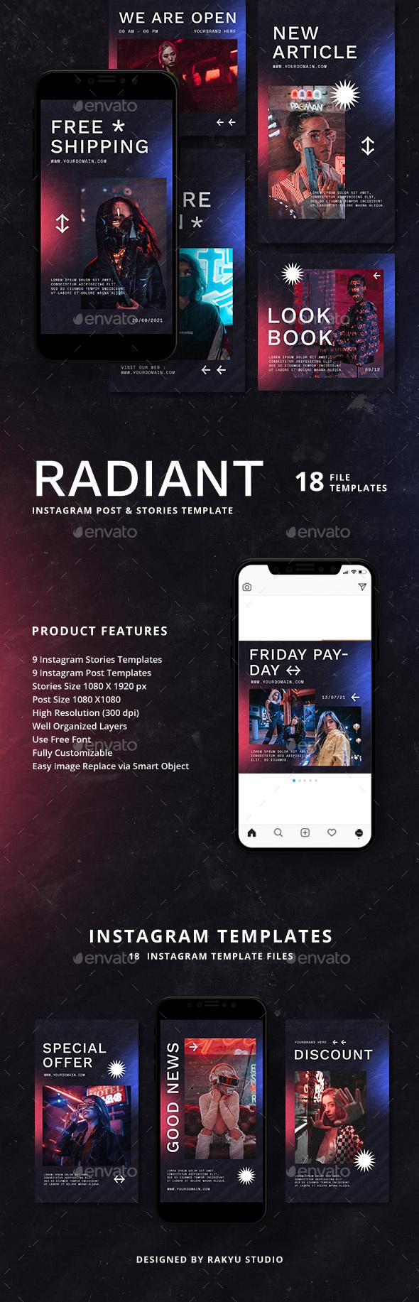 Radiant - Instagram Templates