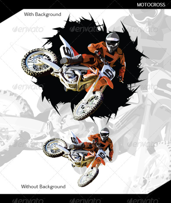 Motocross - Sports/Activity Conceptual